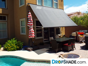 Dropshade Overhead Shade Systems And Retractable Awnings
