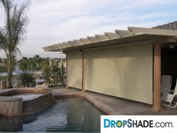 Incroyable Patio Dropshade Images Patio Dropshade Images ...